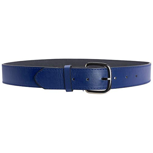 Schutt Sports Synthetic Leather Baseball and Softball Uniform Belt, Royal Blue, 2X-Large
