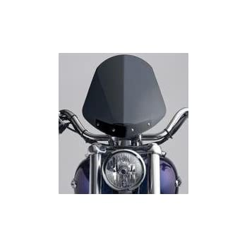 National Cycle N2708 Gladiator Light Tint Windshield with Chrome Mounts for 199