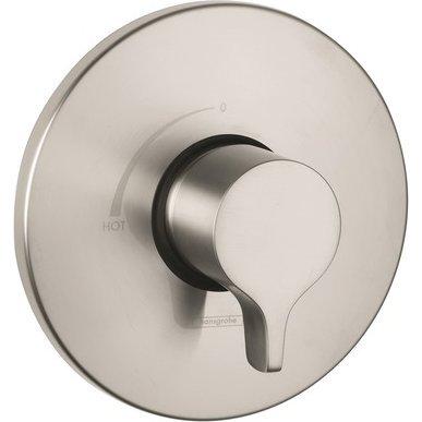 Set Trim Pressure Balance (Hansgrohe 04355820 Metris Pressure Balance Trim, Brushed Nickel)