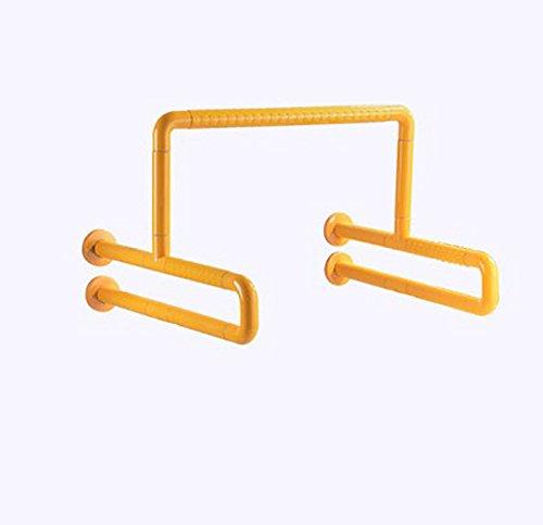 お待たせ! YYSXZY バスルームの手すり :、 ステンレス鋼 ナイロン、 強いグリップ、 A) ホームホテル さいず ファッションモダン 高齢者/障害者 便器手すり、 ホワイト/イエロー、 2のスタイル (色 : イエロー いえろ゜, サイズ さいず : A) A イエロー いえろ゜ B07FNZ5GR5, アプロバシオン:3bf2020f --- ciadaterra.com