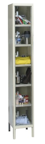 Hallowell USVP1228-6A-PT Safety-View Plus Locker, 12