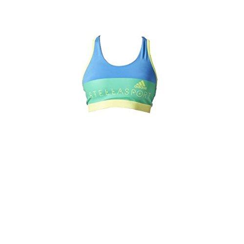 adidas Stellasport SC Womens Climalite Padded Sports Bra - L Blue