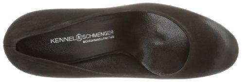 Kennel und Schmenger Schuhmanufaktur Pink, Scarpe chiuse Donna Nero (Schwarz (Schwarz))