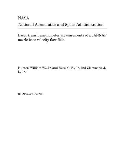 Laser transit anemometer measurements of a JANNAF nozzle base velocity flow field