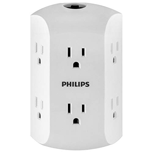 Philips 6 Outlet Wall