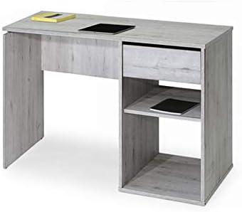 TopKit 5010MOZ Mesa de Escritorio Burgos 5010 con cajón (Ancho 100 ...