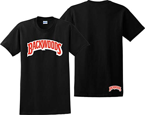 Backwoods T Shirt Cigarillos Swisher Sweets Khalifa Zig Zag 420 Tee Shirts Black