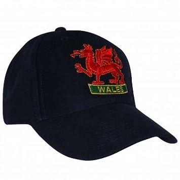 ece8f58cf Wales Dragon Baseball Cap: Amazon.co.uk: Sports & Outdoors