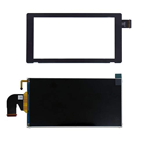 Video Replacement Lcd Screen - TOMSIN Replacement LCD Display Screen with Digitizer Touch Screen for Nintendo Switch