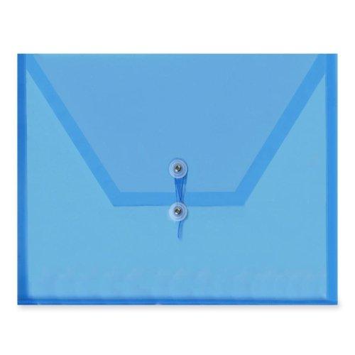Itoya Transparent Hook/Loop Closure Poly Envelopes (ITYPE20BU) -