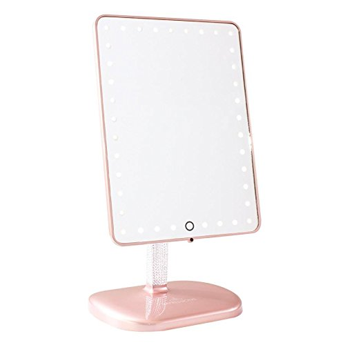 Impressions Vanity Touch Pro LED Makeup Mirror with Bluetooth Audio+Speakerphone & USB -