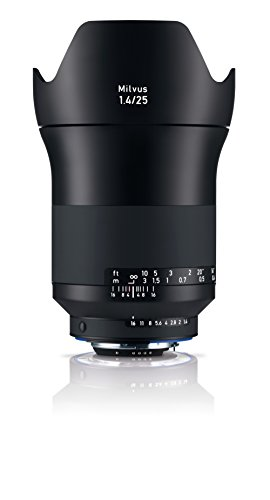 Zeiss Milvus 25mm f/1.4 ZE Lens for Nikon F Mount -  Carl Zeiss, 2096-550