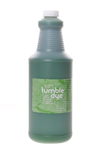 Sew Easy Industries Tumble-Dye Bottle, 1-Quart, Grass Green by Sew Easy Industries