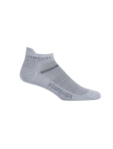 Icebreaker Running & Multisport Low Cut Socks, Breathable, Odor Resistant, New Zealand Merino Wool