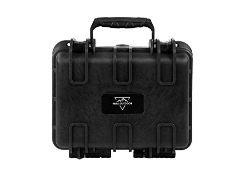 Monoprice Weatherproof/Shockproof Hard Case - Black IP67