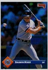 Amazoncom 1993 Donruss Baseball Card 305 Shawn Hare Collectibles