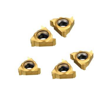 Cutting Tool Carbide Insert - 5pcs 11NR A60/11IR A60 Internal Threaded Inserts for SNR Threaded Lathe Holder - 5 x Insert