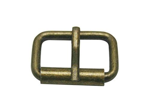 (Generic Metal Bronze Rectangle Buckle 1