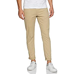 Amazon Brand – Symbol Men's Stretchable Casual Trousers