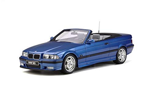 - BMW M3 (E36) Cabriolet Blue Limited Edition to 2,000 Pieces Worldwide 1/18 Model Car by Otto Mobile OT279