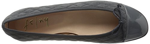 Fs Women's Grey Ny French Passportr Ballet Flat Sole UBqgwT