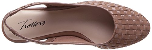 Trotters Womens Lucy Ballet Flat Nude