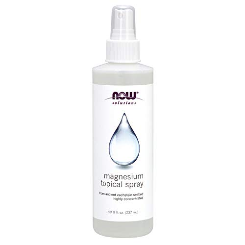 Now Magnesium Topical Spray 8-Ounce