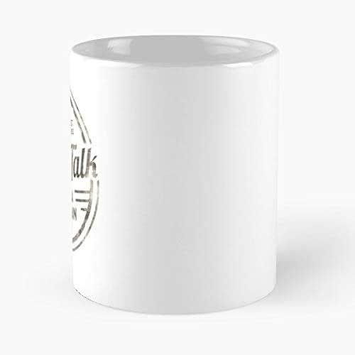 Amazon Com Snl Saturday Night Live Will Ferrell Coffee Talk Coffee Mug 11 Oz Funny Gift Handmade