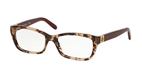 TORY BURCH Eyeglasses TY 2049 Eyeglasses 1363 Blush Tortoise Milky Cabernet 51mm