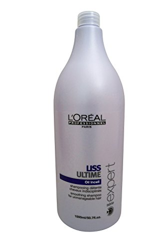 Loreal Hydrating Shampoo (Professionnel Expert Serie - Liss Ultime Oil Incell Smoothing Shampoo ( For Unmanageable Hair ) - L'Oreal - Professionnel - Hair Care - 1500ml/50.7oz by L'Oreal Paris)