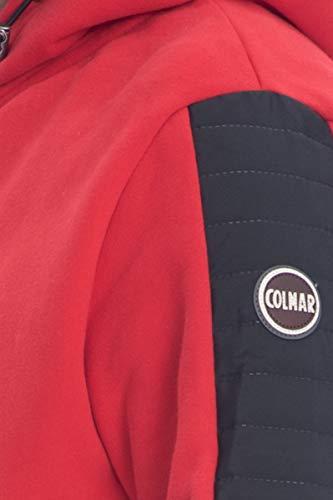 Colmar Cappuccio Originals Con Rossa Felpa Zip E Uomo rCxBedoW