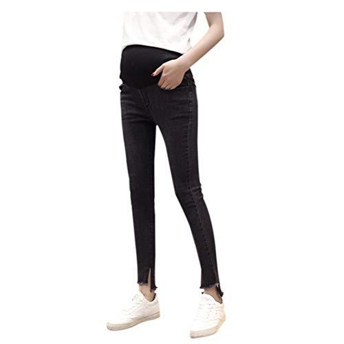 maternit Jean Mom Pantalon Leggings 10 lastiques Femmes Meijunter de Maigre Style CXY6dwq