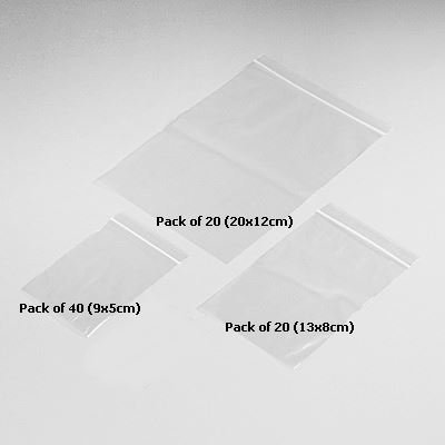 Pack of 80 resealable bags assorted size zip lock clear grip seal pack of 80 resealable bags assorted size zip lock clear grip seal size plastic polythene home reheart Image collections