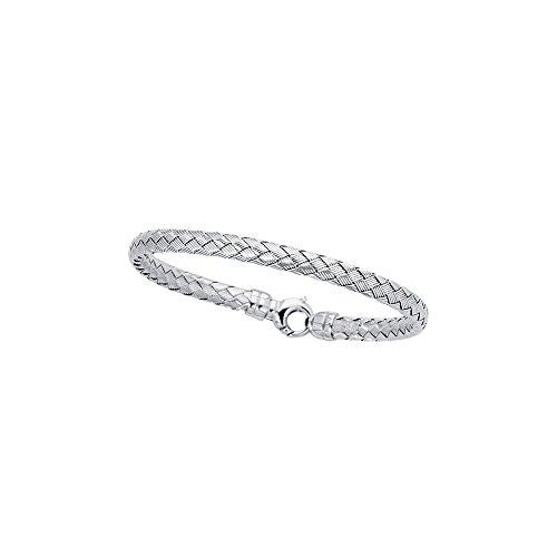 Argent Sterling 7,25 pouces Bracelet JewelryWeb