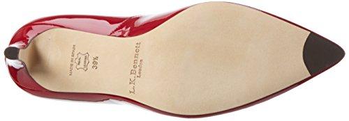 Roca BENNETT Floret Heels Red Red Closed Toe LK Women's wq04Szd7qU