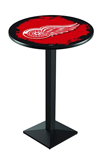 Holland Bar Stool Co. Detroit Red Wings Pub Table