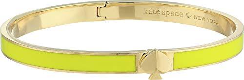Kate Spade New York Women's Heritage Spade Thin Enamel Spade Bangle Flo Yellow One Size