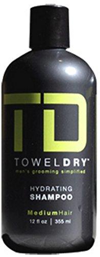 UPC 852558002018, Towel Dry Hydrating Shampoo for Men, 12 Ounce