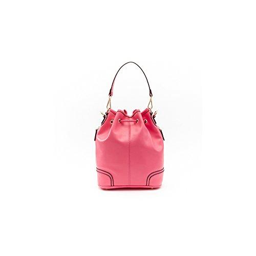 BBFB114 Mode série Porté Bandoulière couleur Fashion Elégant Epaule à cuir à de Main Filles pour la pure rose en Sac Shopping de Femmes PU Barbie nvqCg4X
