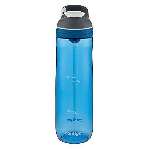 Shop Cafe Bottle (Contigo AUTOSEAL Cortland Water Bottle, 24 oz, Monaco)