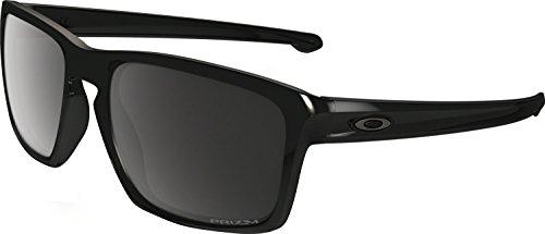 Oakley Men's Sliver (A) Polarized Sunglasses,Black ()