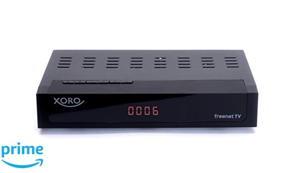 Xoro HRT 8770 Twin DVB-C/DVB-T2 Cable, freenet TV, PVR, 1 x ...