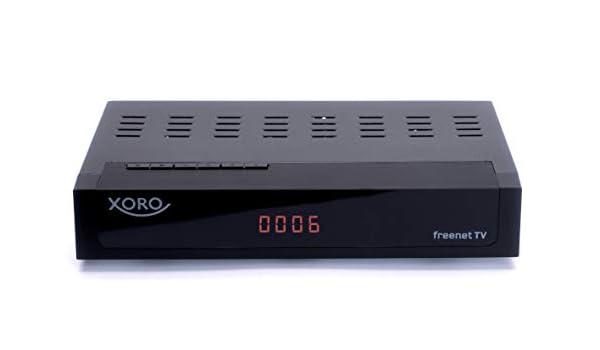 Xoro HRT 8770 Twin DVB-C/DVB-T2 Cable, freenet TV, PVR, 1 x USB ...