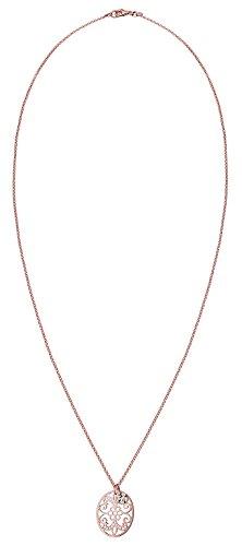 Elli - Collier court - Plaqué or - Ornement - Cristal - 45 cm - 0110642215_45