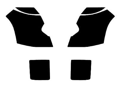 Rtint Headlight Tint Covers for Cadillac CTS 2003-2007 (Sedan) - 1