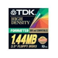 TDK MF2HD-100 Floppy Disks for PC by TDK