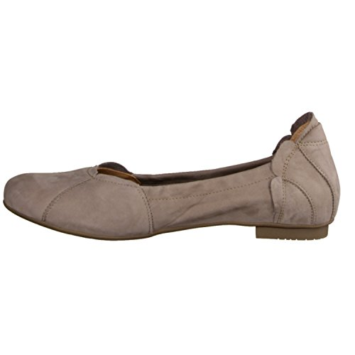 Think Balla 86160-27- Damenschuhe Modische Pumps / Ballerina, Beige, leder (calf nubuk), absatzhöhe: 10 mm