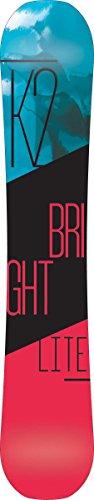 All Terrain Carbon Snowboard - K2 Women's Bright Lite: Snowboard Board (149 cm)