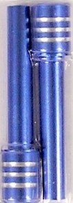 Billet Aluminum Door Lock Knobs Blue (Billet Door Lock Knobs)