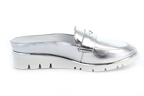 Femme GERRY WEBER Mules pour Silber 1gwP1rx